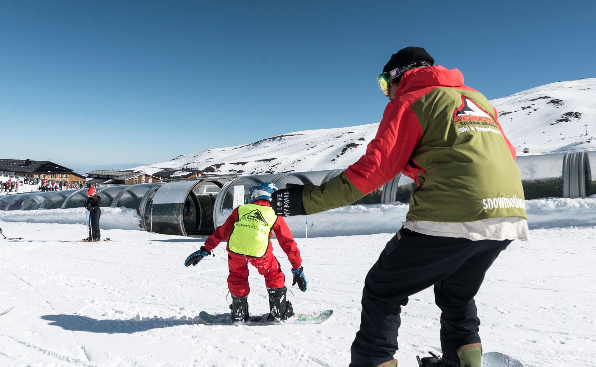 Snow para niños
